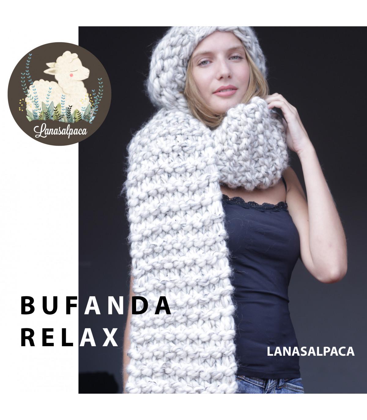 Bufanda Relax - Lanasalpaca